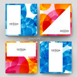 Abstract background vector brochure template. Flyer Layout. Creative modern design Royalty Free Stock Photos