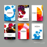 Abstract background vector brochure template. Flyer Layout. Creative modern design Royalty Free Stock Photography