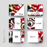 Abstract background vector brochure template. Flyer Layout. Creative modern design Royalty Free Stock Image