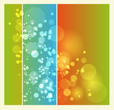 Abstract background. Vector Abstract background with circles Royalty Free Stock Photo