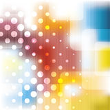 Abstract Background Vector. Colorful Abstract Background Template Design with Transparent Rounded Squares - Illustration in Freely Scalable & Editable Vector vector illustration