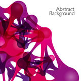 Abstract background with vector design elements Stock Photo