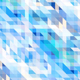 Abstract background. Vector geometric abstract background with triangles and lines Stock Image