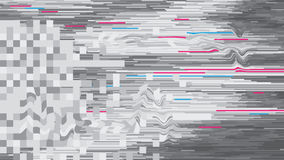 Abstract background vector glitch style design digital decay Royalty Free Stock Photography