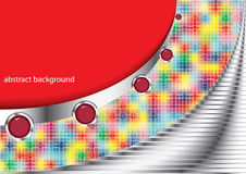 Abstract background - vector illustration Stock Photography