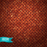 Abstract background. Vector illustration of rusted metal surface. Speaker grill texture Vector Illustration