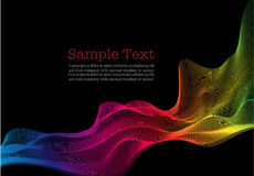 Abstract background. Vector lines modern abstract background Vector Illustration