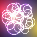 Abstract background. Vector - multi-color background(violet and blue Royalty Free Stock Images