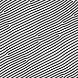 Abstract background of vector organic irregular lines maze pattern. Black and white chaotic design royalty free illustration