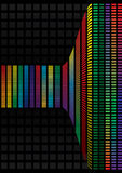 Abstract background, vector rainbow Stock Photo