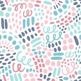 Abstract background. Vector seamless pattern Royalty Free Stock Images