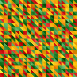 Abstract background. Vector seamless triangle geometric pattern stock illustration