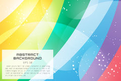 Abstract background vector technology wallpaper. Triangle, color lines, pattern and geometric art. Stock vectors illustration stock illustration