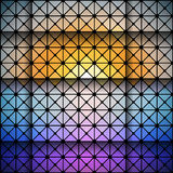 Abstract background vector. Abstract triangle design, dark background vector illustration Royalty Free Stock Photo
