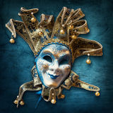 Abstract  background with venetian mask Stock Photography