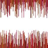 Abstract background from vertical stripes. Vector graphic design Stock Images