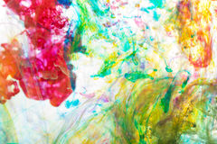 Abstract  background. Abstract and very colorful motion blur background Royalty Free Stock Photography