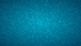 Abstract background of very small squares of different sizes. Abstract background of small squares or pixels of different sizes in light blue colors royalty free illustration