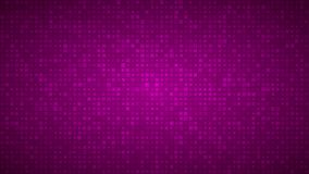 Abstract background of very small squares of different sizes. Abstract background of small squares or pixels of different sizes in purple colors vector illustration