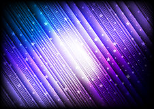 Abstract background with vibrant stars. Abstract background with vibrant stripes, stars and the glow Stock Photos