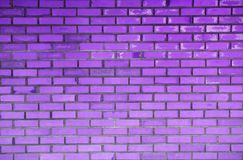 Abstract background of vintage purple brick wall Stock Photos