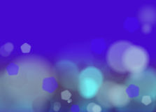 Abstract Background violet. Blue and yellow lights over dark blue background Royalty Free Stock Images