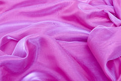 Abstract background violet chiffon Stock Images