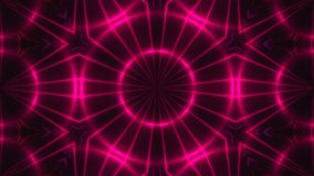Abstract background with VJ Fractal purple kaleidoscopic. 3d rendering digital backdrop.  Stock Photos