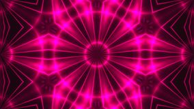 Abstract background with VJ Fractal purple kaleidoscopic. 3d rendering digital backdrop.  Royalty Free Stock Photography