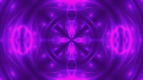 Abstract background with VJ Fractal violet kaleidoscopic. 3d rendering digital backdrop stock footage