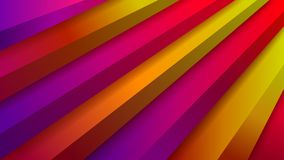 Abstract background with volumetric stair Royalty Free Stock Photo