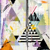 Abstract Background W. Triangles, Vector Royalty Free Stock Photography