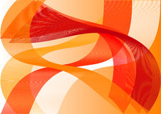 The abstract background in warm colors Royalty Free Stock Images