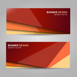 Abstract background in warm colors with stripes. Illustration Stock Photos