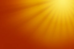Abstract background. With warm sunrays Stock Photo