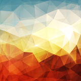 Abstract background. Warm texture design - vector illustration Royalty Free Stock Photography