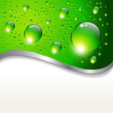 Abstract background with water drops Stock Photos