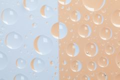Abstract background with water drops. Color abstract background with raindrops royalty free illustration