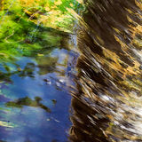 Abstract background of water movement Royalty Free Stock Photo
