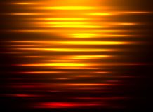 Abstract background water reflection at sunset. Vector illustration Stock Image