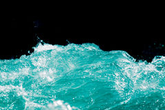 Abstract background. water wave with splashes Stock Photo