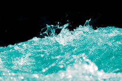 Abstract background. water wave with splashes Royalty Free Stock Images