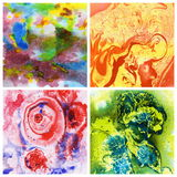 Abstract background, watercolor Royalty Free Stock Photography