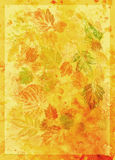Abstract background, watercolor, leafs Royalty Free Stock Image