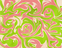 Abstract background. Watercolor marble texture. Abstract lime green, coral pink and beige watercolor background. Marble texture Stock Image