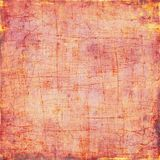 Abstract background of watercolor paint artistic canvas of small strokes of pink and yellow background, square. Abstract background of watercolor paint on Stock Images