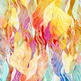 Abstract background. Watercolor a retro background of abstract elements Royalty Free Stock Image