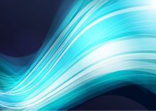 Abstract background wave. Abstract blue technology colorful wave vector background Stock Images