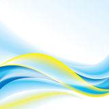 Abstract background wave Royalty Free Stock Photo