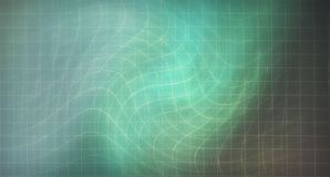 Abstract background wave cell lines wavy luminous wave green brown royalty free stock photo